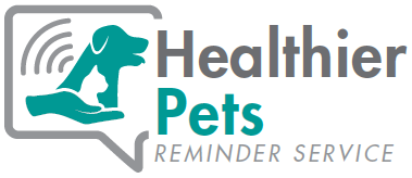 This picture will go to the The Healthier Pets Reminder service website for veterinary practices